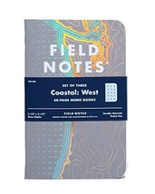 Field Notes Coastal: West Special Edition Recital Grid Memo Books, 3-Pac... - $56.78