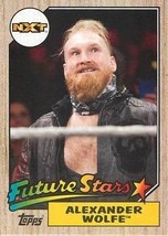 *WWE 2017 Topps Heritage Card #R-1 Alexander Wolfe Roster Update - $1.49