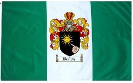 Braidie Coat of Arms Flag / Family Crest Flag - $29.99