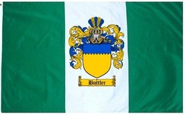 Buttler Coat of Arms Flag / Family Crest Flag - $29.99