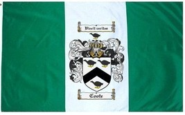 Coote Coat of Arms Flag / Family Crest Flag - $29.99