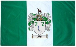 Day Coat of Arms Flag / Family Crest Flag - $29.99