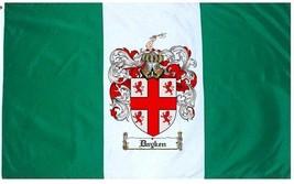 Dayken Coat of Arms Flag / Family Crest Flag - $29.99