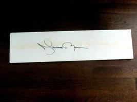 MARIANO RIVERA # 42 HOF NEW YORK YANKEES SIGNED AUTO PITCHING RUBBER JSA... - $890.99