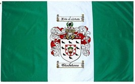 Gladstone Coat of Arms Flag / Family Crest Flag - $29.99