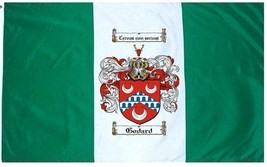 Godard Coat of Arms Flag / Family Crest Flag - $29.99