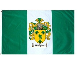Hinchcliff Coat of Arms Flag / Family Crest Flag - $29.99