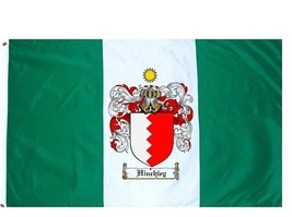 Hinchley Coat of Arms Flag / Family Crest Flag - $29.99