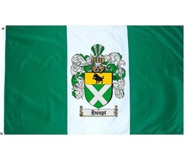 Houpt Coat of Arms Flag / Family Crest Flag - $29.99