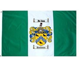 Houston Coat of Arms Flag / Family Crest Flag - $29.99