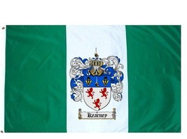 Kearney Coat of Arms Flag / Family Crest Flag - $29.99