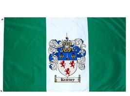 Kearney Coat of Arms Flag / Family Crest Flag - $29.99