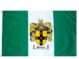 Morison Coat of Arms Flag / Family Crest Flag - $29.99