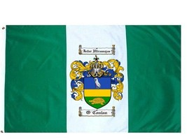 O'Conlan Coat of Arms Flag / Family Crest Flag - $29.99