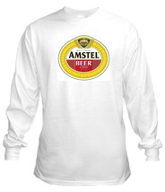 Amstel Beer Long Sleeve T Shirt  S M L XL 2XL 3... - $23.99 - $26.99