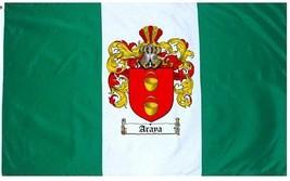 Araya- Coat of Arms Flag / Family Crest Flag - $29.99