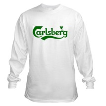 Carlsberg Beer Long Sleeve T Shirt S M L XL 2XL 3XL 4XL 5XL  - $23.99+