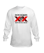 Dos Equis Mexico Long Sleeve Beer T Shirt S M L... - $23.99 - $26.99