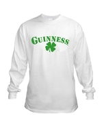 Guinness Shamrock Long Sleeve Beer T Shirt S M ... - $23.99 - $26.99