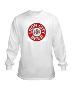 Iron City Beer Long Sleeve T Shirt S M L XL 2XL... - $23.99 - $26.99