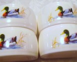 Mallard Duck  Ceramic Napkin Rings