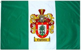 Espinosa Coat of Arms Flag / Family Crest Flag - $29.99