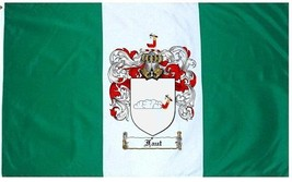 Faut Coat of Arms Flag / Family Crest Flag - $29.99