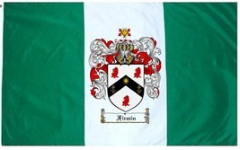 Firmin Coat of Arms Flag / Family Crest Flag - $29.99