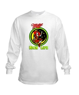 Miller High Life Moon Girl Long Sleeve Beer T S... - $23.99 - $26.99