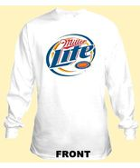Miller Lite Long Sleeve Beer T Shirt S M L XL 2... - $23.99 - $26.99