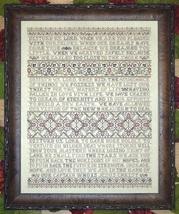 Disturb Us Lord cross stitch chart My Big Toe Designs - $22.00
