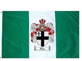 Heye Coat of Arms Flag / Family Crest Flag - $29.99