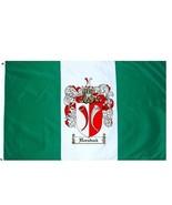 Hornback Coat of Arms Flag / Family Crest Flag - $29.99