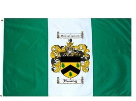 Housley Coat of Arms Flag / Family Crest Flag - $29.99