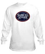 Sam Adams Oval Long Sleeve Beer T Shirt S M L X... - $23.99 - $26.99