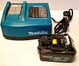 USED Makita Charger DC18SC With Makita Li-ion BL1830 Battery - $69.29