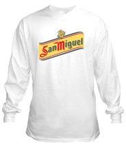 San Miquel Beer Long Sleeve T Shirt S M L XL 2XL 3XL 4XL 5X - $23.99+