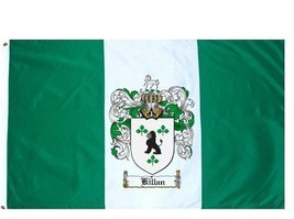 Killan Coat of Arms Flag / Family Crest Flag - $29.99