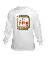 Stag Beer Long Sleeve T Shirt S M L XL 2XL 3XL ... - $23.99 - $26.99