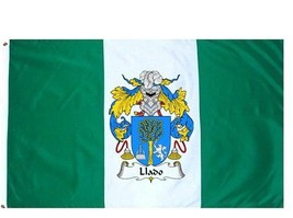 Llado Coat of Arms Flag / Family Crest Flag - $29.99