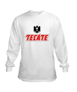 Tecate Beer Long Sleeve T Shirt S M L XL 2XL 3X... - $23.99 - $26.99