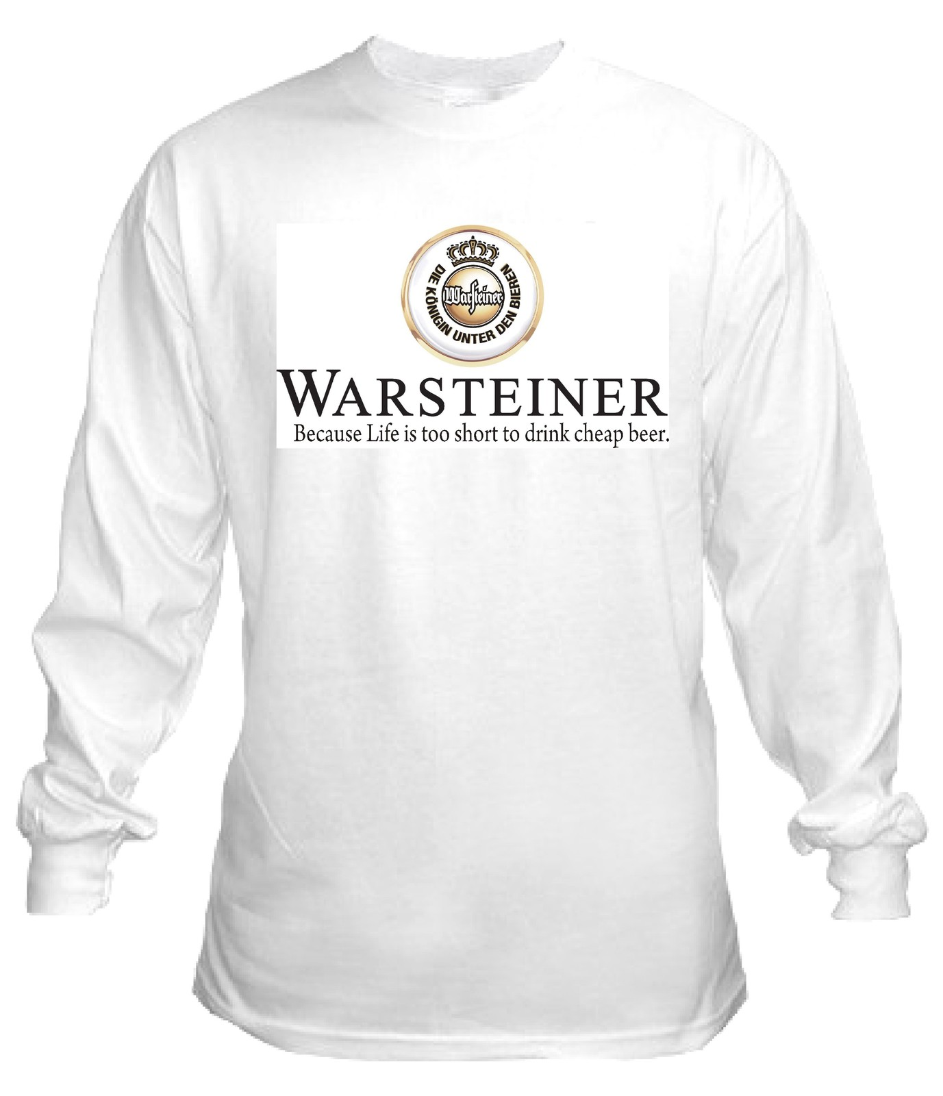 Warsteiner German Beer Long Sleeve T Shirt S M L Xl 2xl