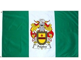 Pujades Coat of Arms Flag / Family Crest Flag - $29.99