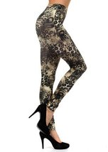 Women's Seamless Printed Leggings (One Size, Jaguar) - $9.89