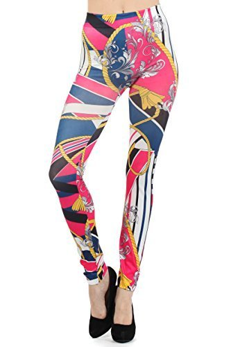 Women's Seamless Printed Leggings (One Size, Jaguar) image 2