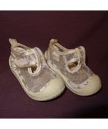Shoes White Silver Sparkle Mesh Size 2 or 6 - 9 Months Baby Girls Rising... - $8.89