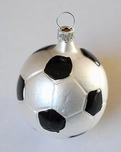 Soccer Ball Blown Glass Ornament [Kitchen] - $39.99