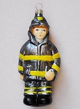 Fire Fighter Blown Glass Ornament [Kitchen] - $39.99