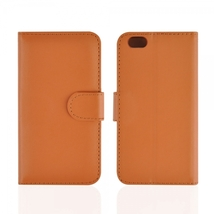 """Plain Weave Pattern Clasp Fastened Purse Style Leather Case for 4.7"""" iPhone 6/6S - $20.00"""