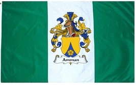 Amman Coat of Arms Flag / Family Crest Flag - $29.99